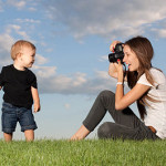 Taking photo's of your kids
